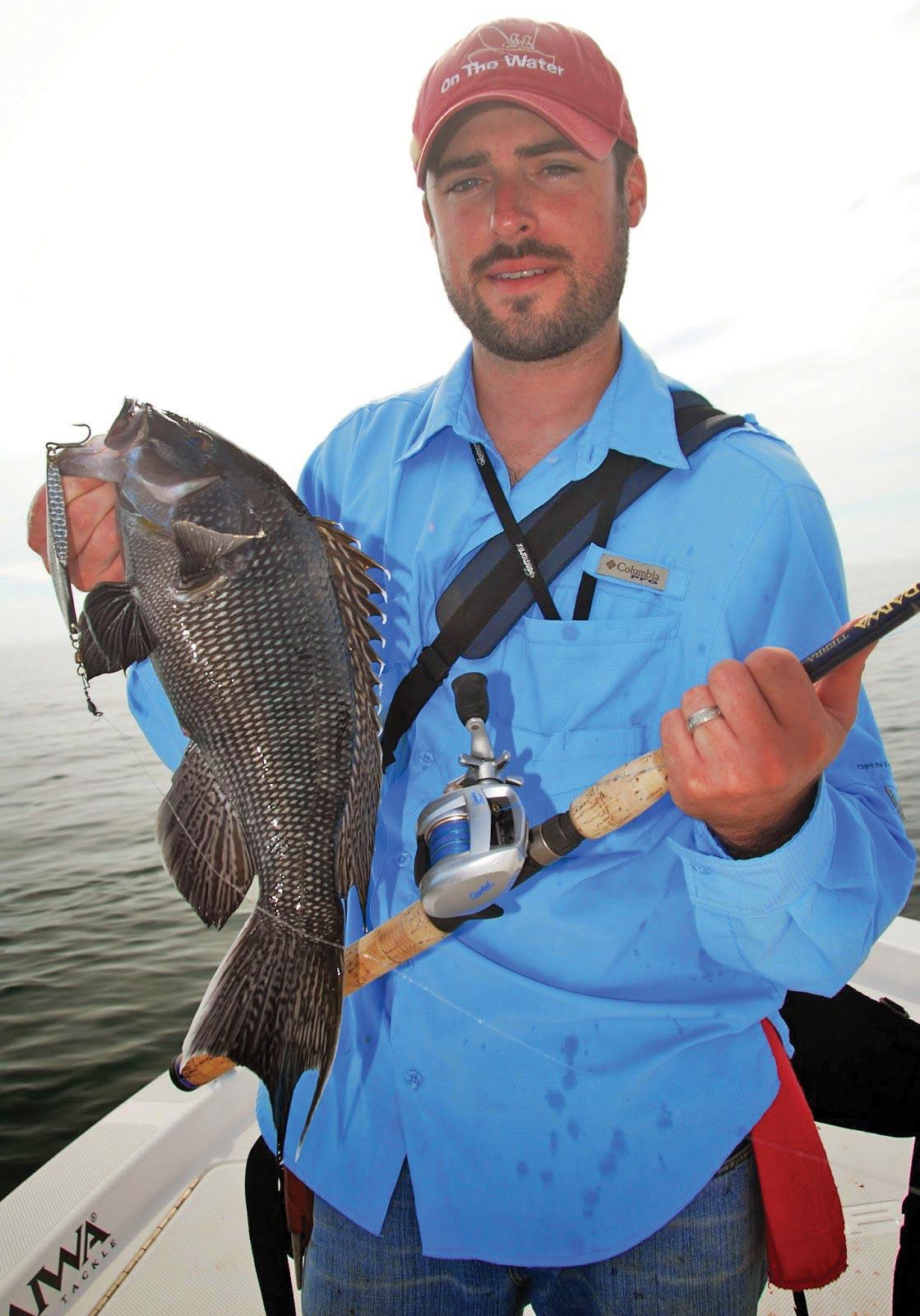 Diamond jigs are an effective tool for sea bass