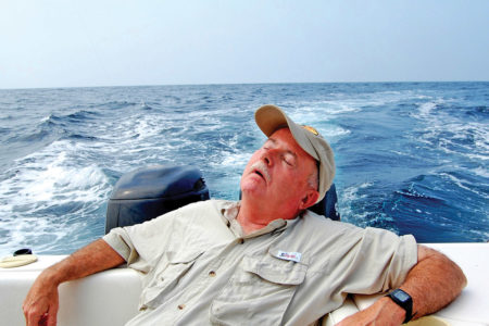 a 15-minute siesta in the fighting chair could be the difference in the fish story that ends in the one that got away
