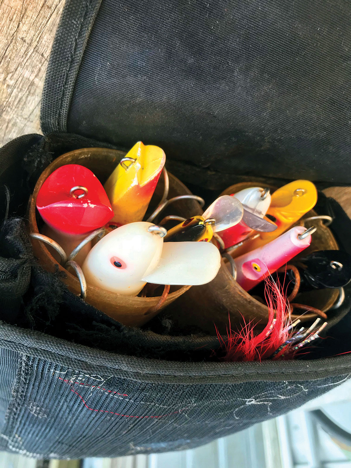 selection of lures