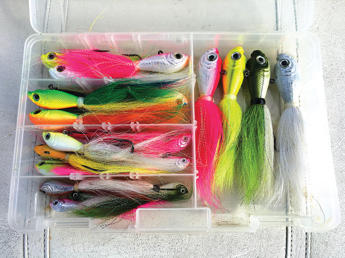 selection of Spro bucktails