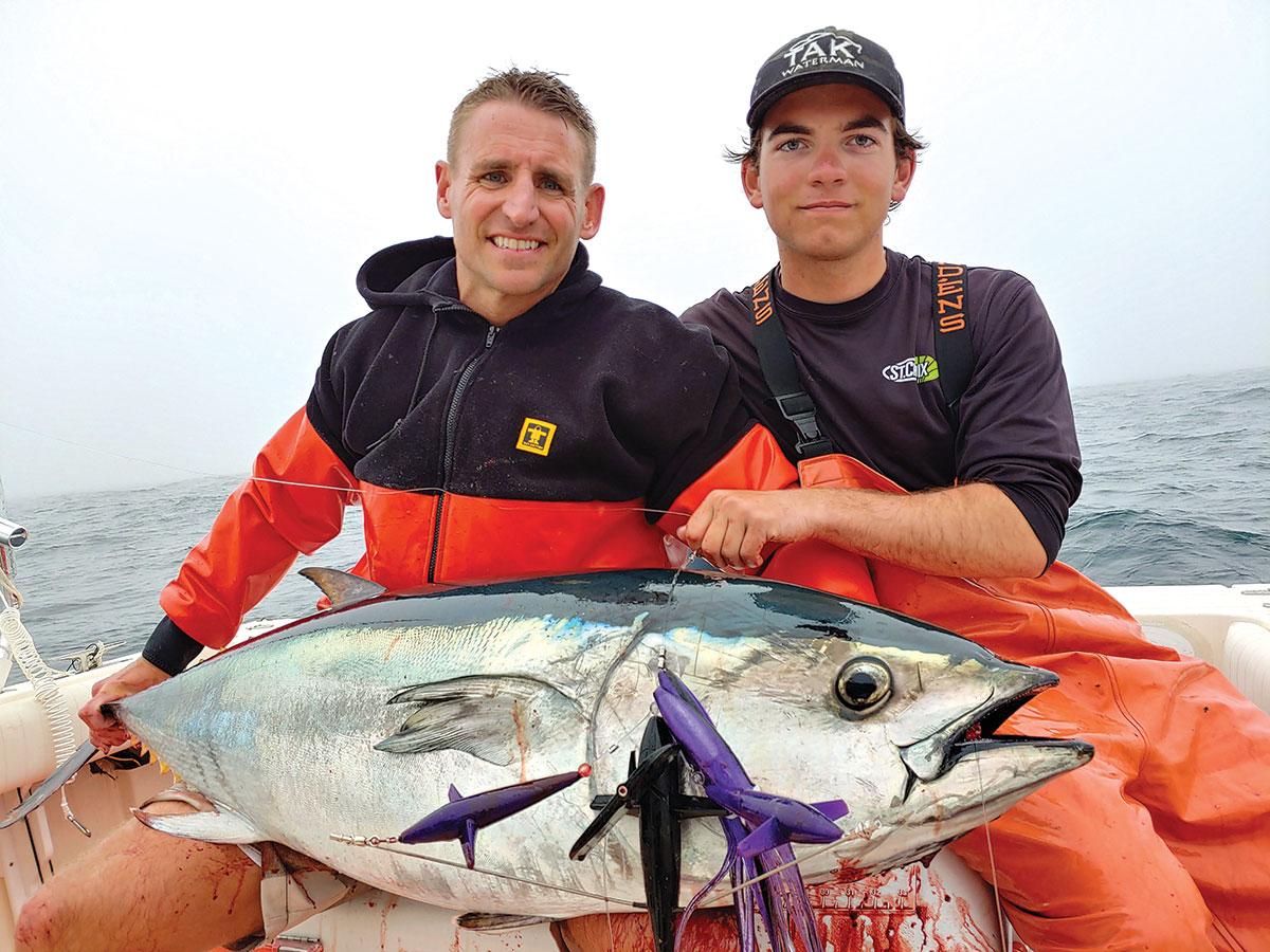 Nice sized bluefin