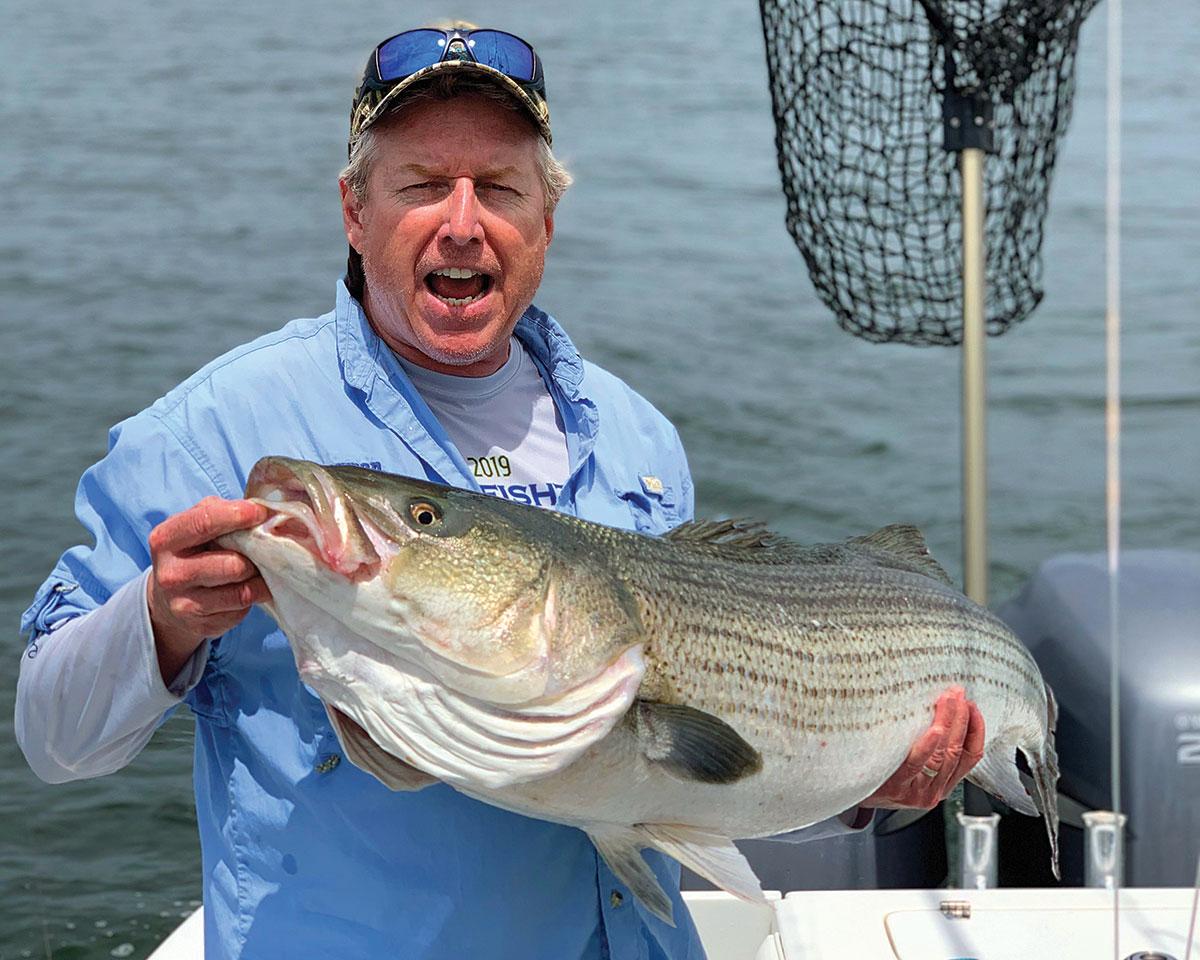 45-inch striper caught