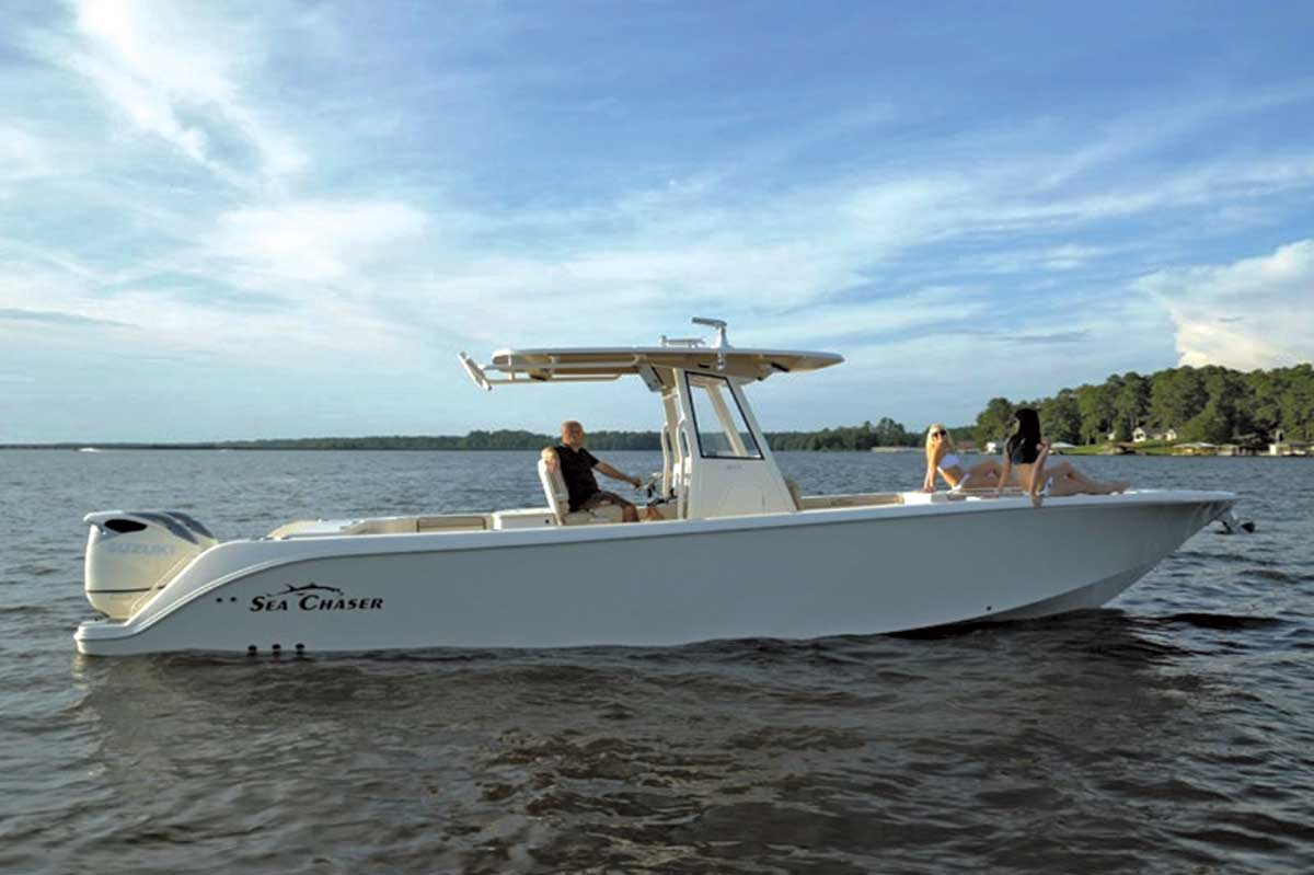 Sea Chaser 35 HFC Bluewater Series