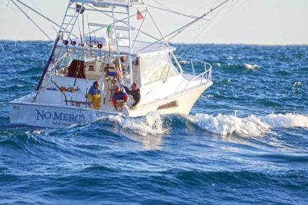 For those who play their weather windows properly on the offshore grounds, big seas often mean big fish.