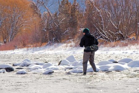 Hunting Winter Trout