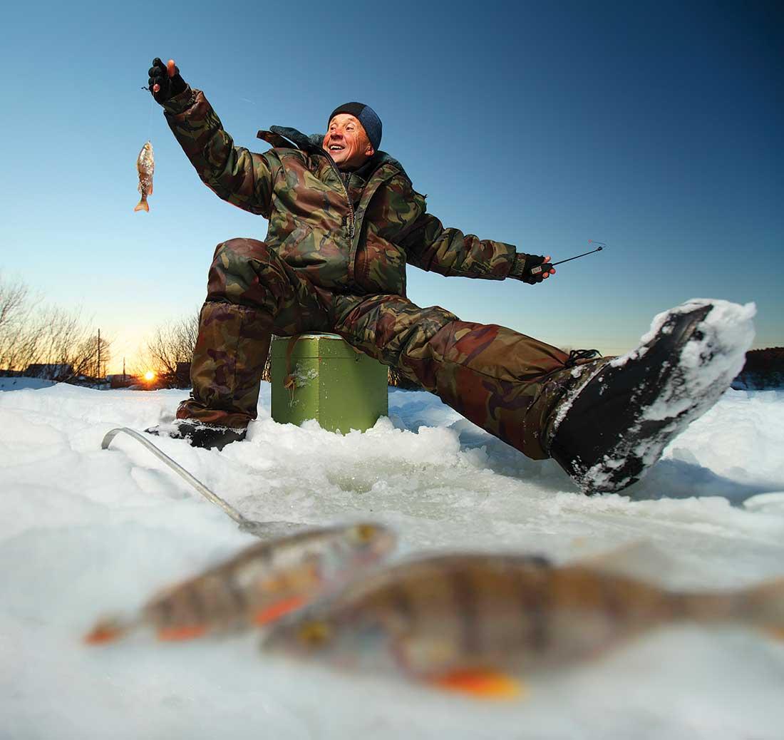 Late Ice Pressured Panfish