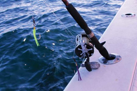 Effective rigging for haddock fishing can be fairly basic. Unlike cod fishing, more often than not, simple baited hooks will out-fish fancy jigs and teasers.