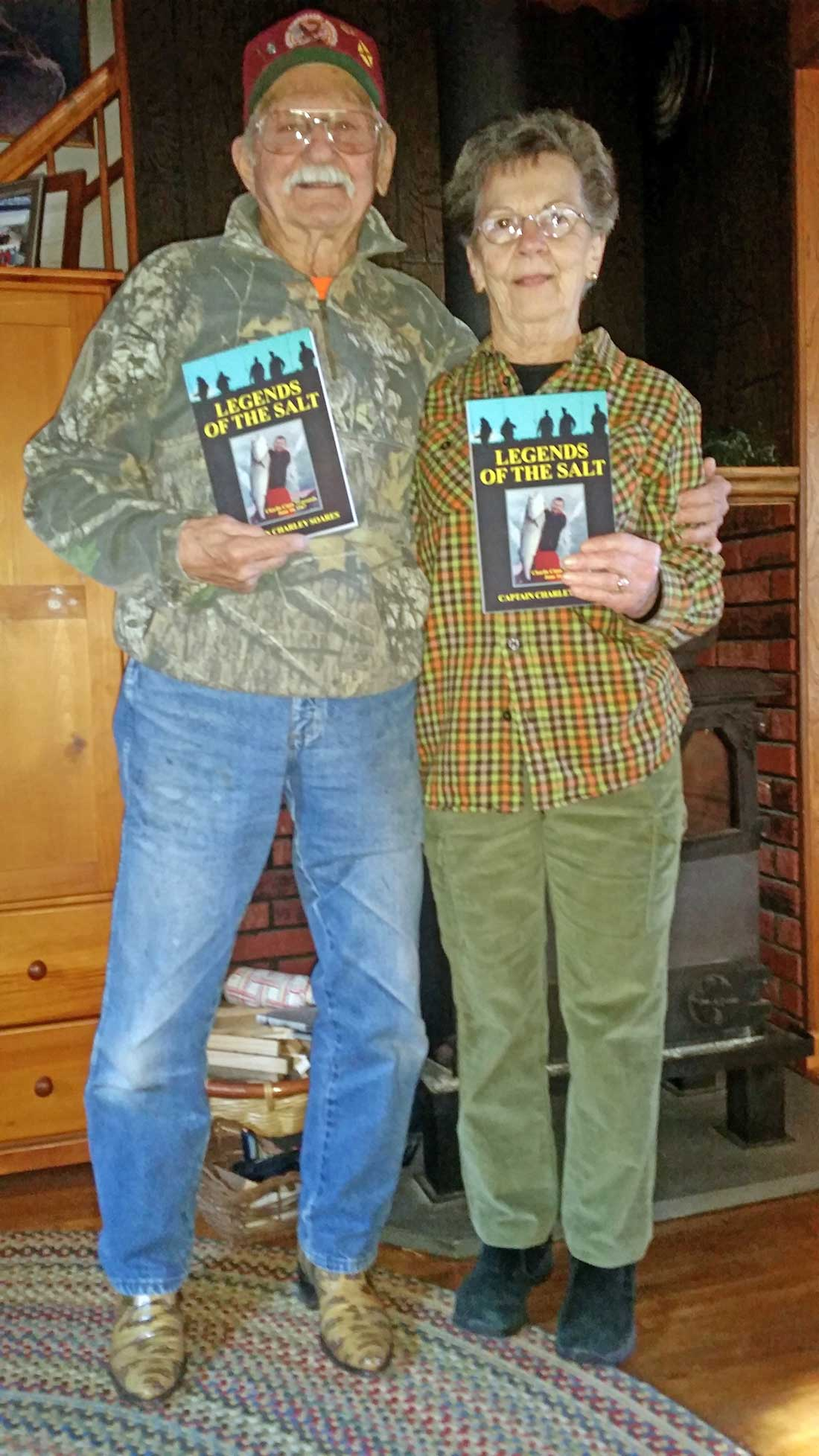 Cinto visited the author's home