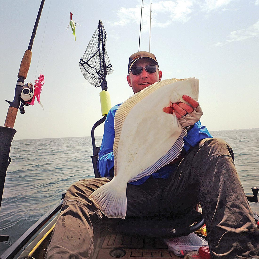 Chris Wahl tips both the main jig and teaser