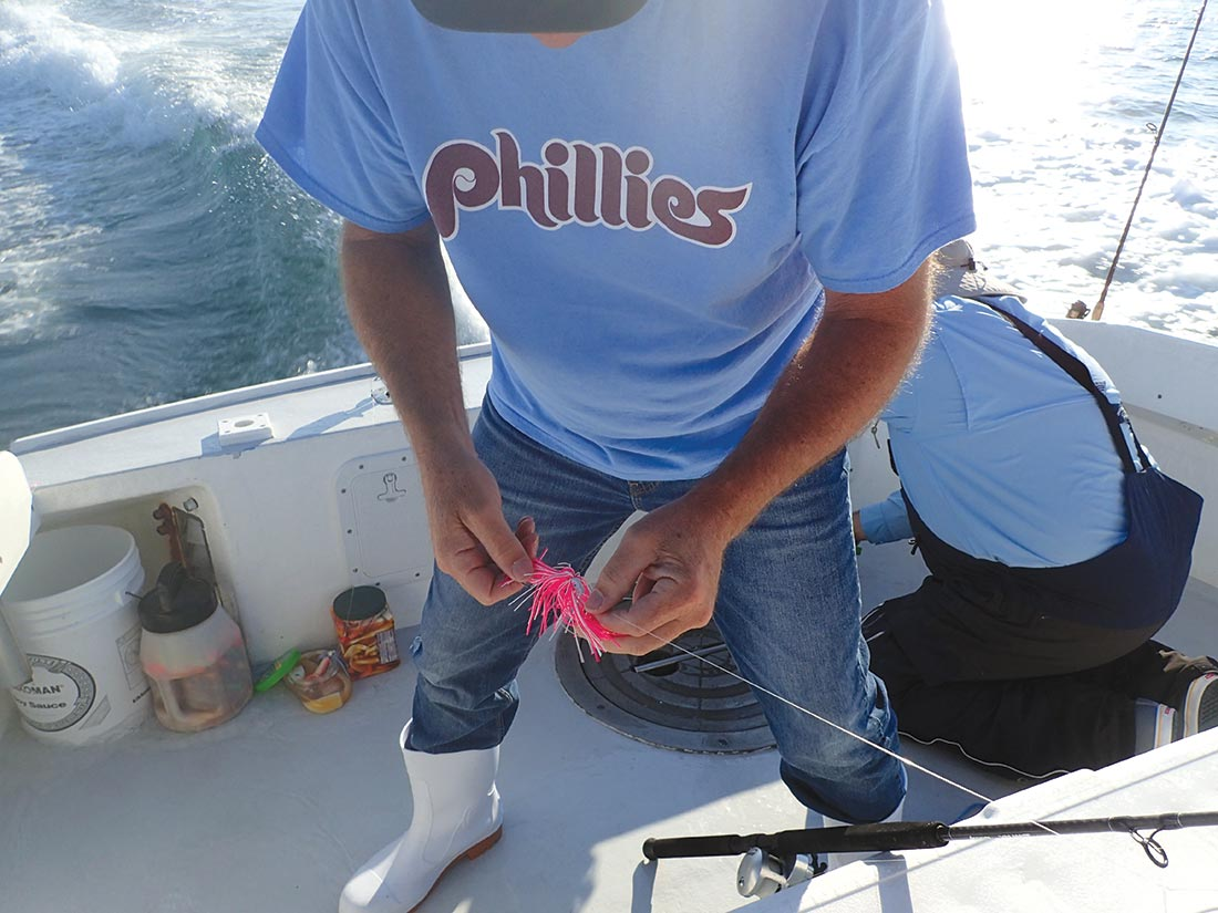 Fishermen need to carry all their choice gear