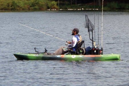 A properly outfitted kayak