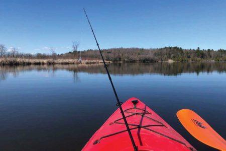 A single-person kayak