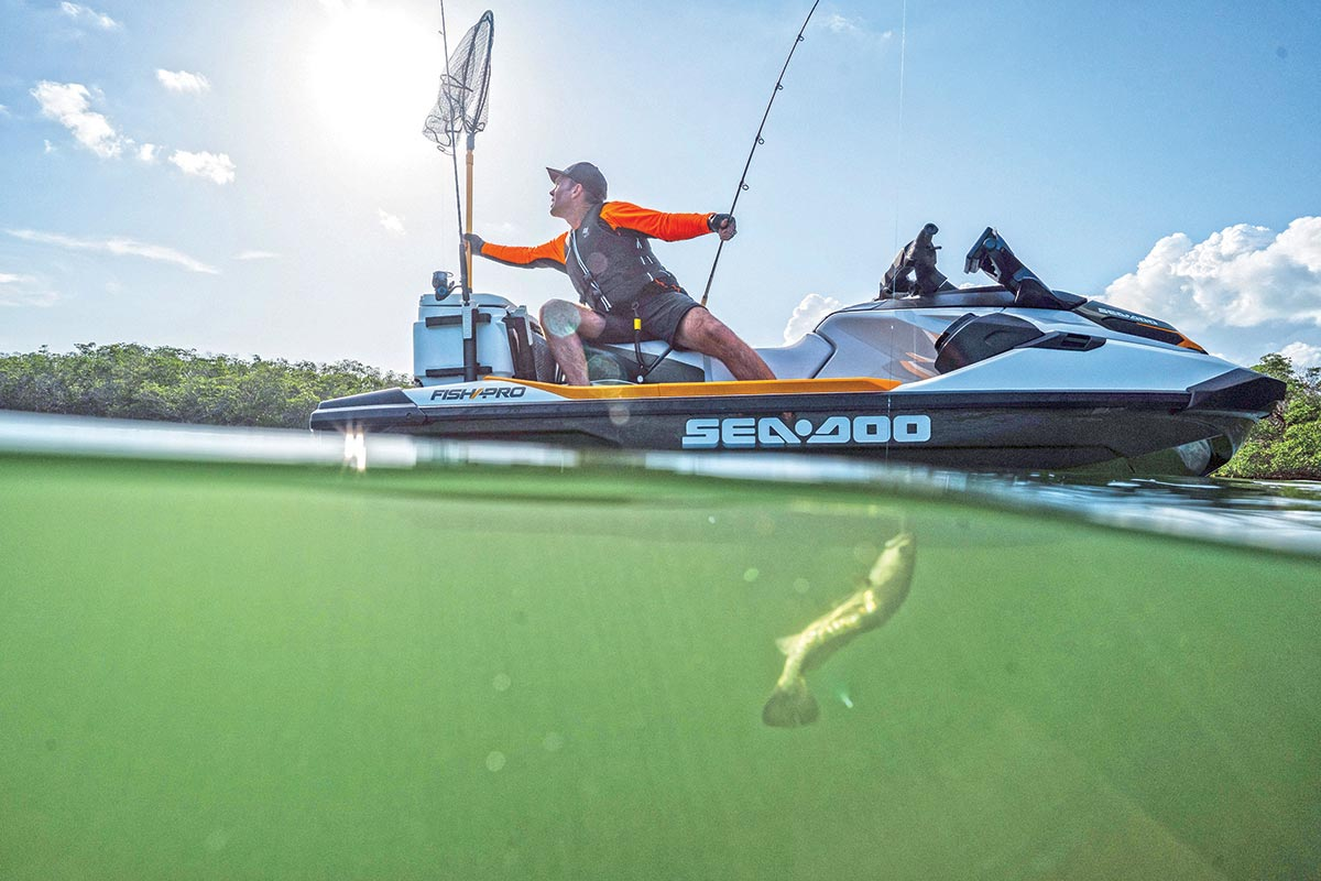 Personal Watercraft Fishing Sea Doo FISH PRO Honeyhole
