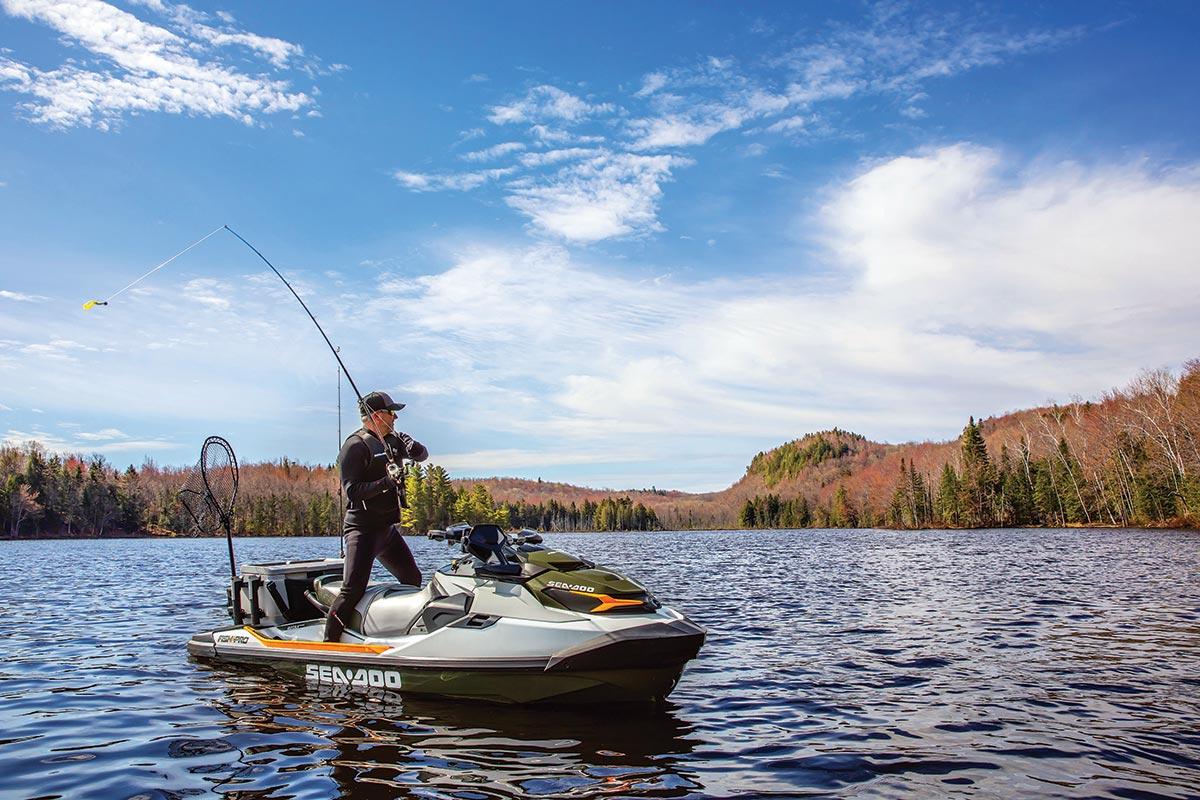 Personal Watercraft Fishing