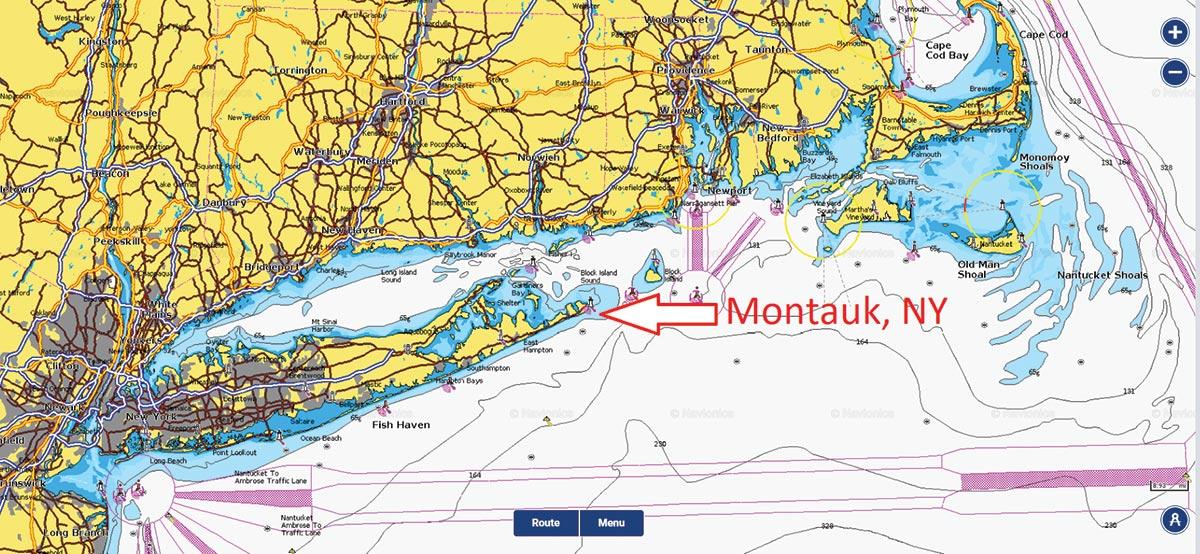 Mission Montauk MONTAUK CHART 2
