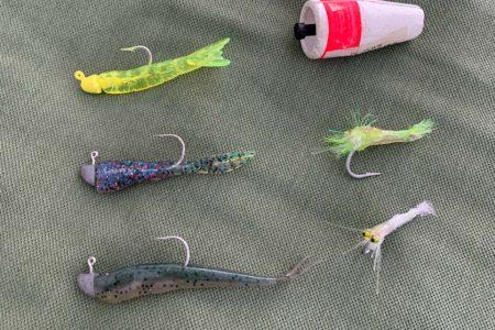 Grass shrimp flies