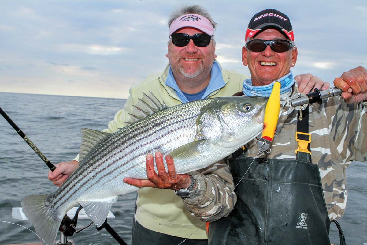 Boat Stripers Casting Inside Out
