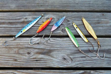 An assortment of jigs