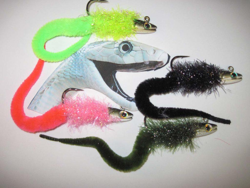 A selection of Sea Snake Jigs