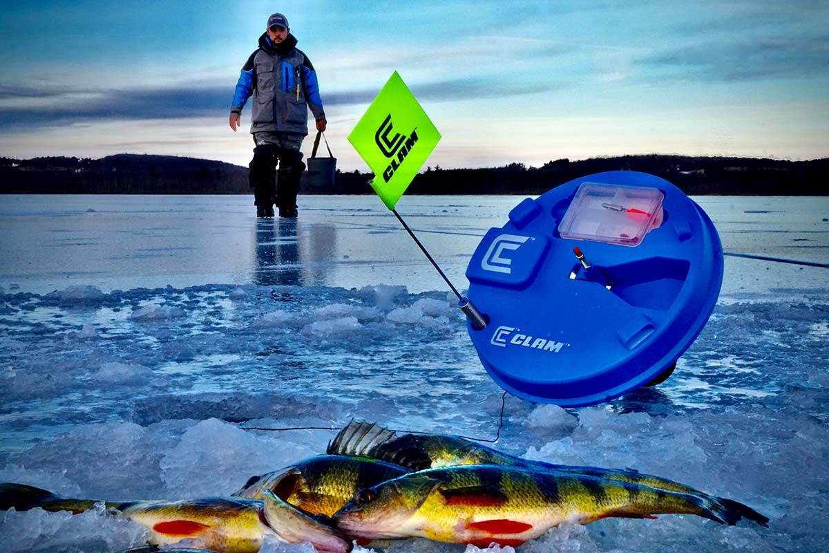 Ice fishing can be a fun and rewarding way to pass the winter months.