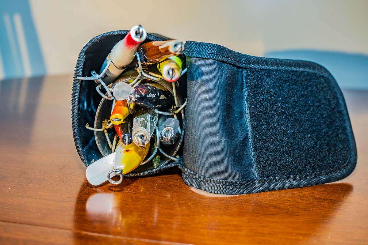Depending on the type of plugs being used, even a single-tube bag can carry an array of options.