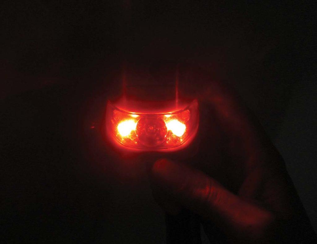 Red Lamp At Night